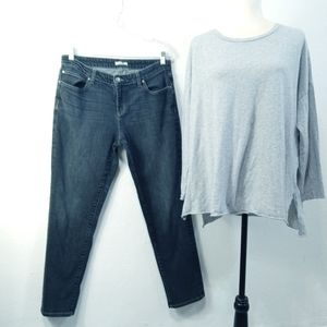 Eileen Fisher Jeans and Top
